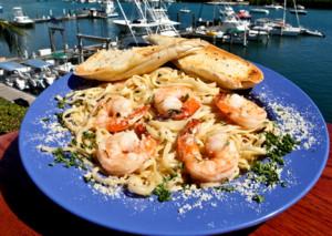 10-Shrimp Scampi Linguini