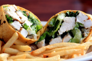 11 - Grilled Chicken Caesar On Jalapeno Cheddar Wrap