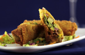 8 - Avocado Egg Roll With Sweet Thai Chili